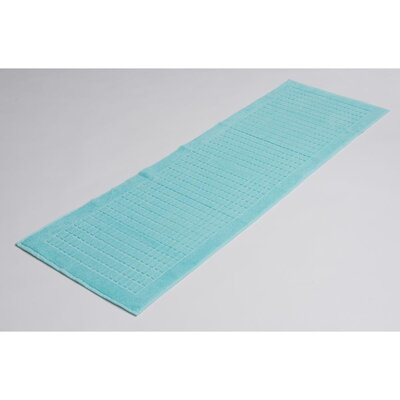 Solomon 100% Cotton Bath Rug Color: Mint