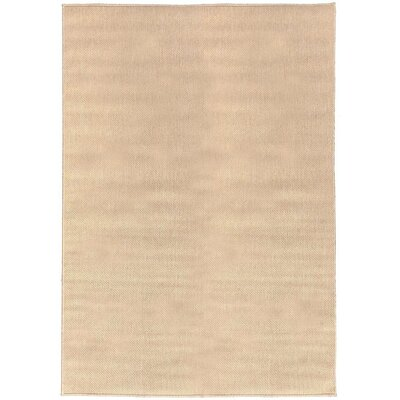 Summer Beige Indoor/Outdoor Area Rug Rug Size: 73 x 53