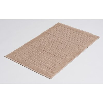 Solomon 100% Cotton Luxury Bath Rugs Color: Beige