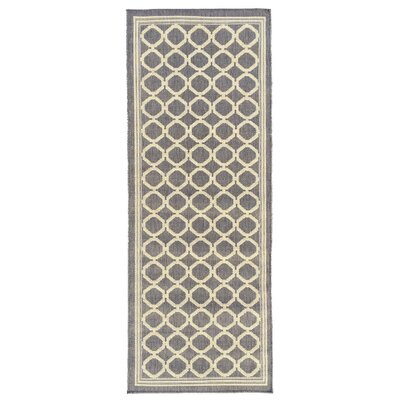 Summer Geometric Natural Indoor/Outdoor Area Rug