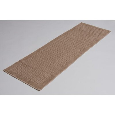 Solomon 100% Cotton Bath Rug Color: Beige