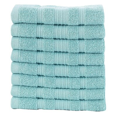 Solomon 100% Cotton Luxury Hotel and Spa Washcloth Color: Mint
