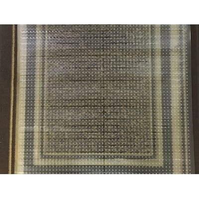 Multi-Grip Ribbed Plastic Doormat Protector Rug Size: Runner 22 x 10