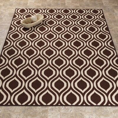 Rose Brown Area Rug Rug Size: 33 x 47