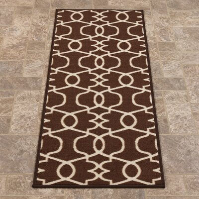 Rose Brown Area Rug Rug Size: Runner 23 x 7