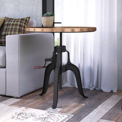 Fox Nesta Crank End Table
