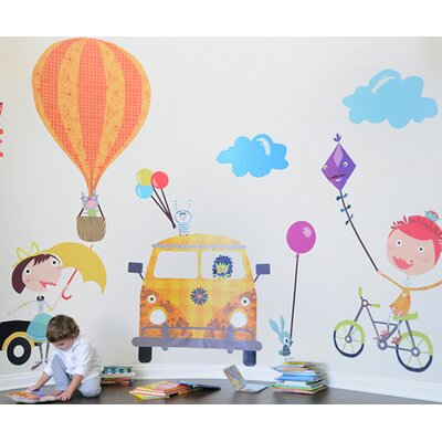 Fun Times! Playful Accessories Wall Decal 2308