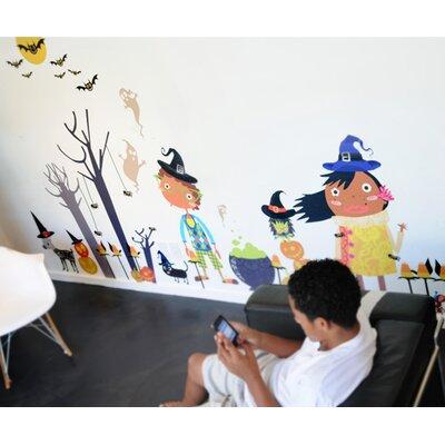 Peek-A-Boo! Hoo! Hoo! Halloween Overlay Wall Decal 2328