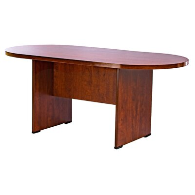 Racetrack/Oval 36W Conference Table Finish: Cherry