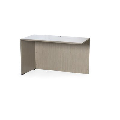 29.5 H x 42 W Reversible Desk Return