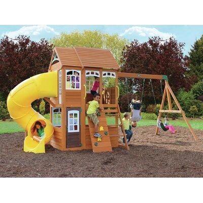 Richmond Lodge Wooden Play Swing Set F25685