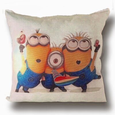 Minion Party Throw Pillow