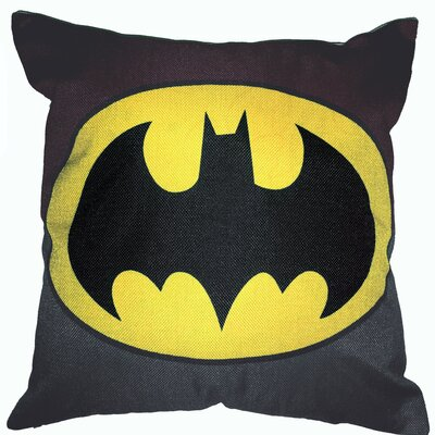 Batman Superhero Cotton Throw Pillow