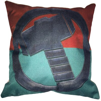 Thor Superhero Cotton Throw Pillow
