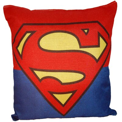 Superman 100% Cotton Throw Pillow