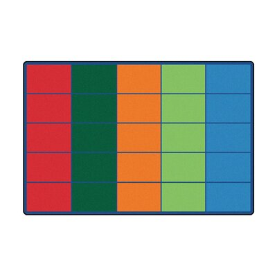 Colorful Rows Seating Area Rug