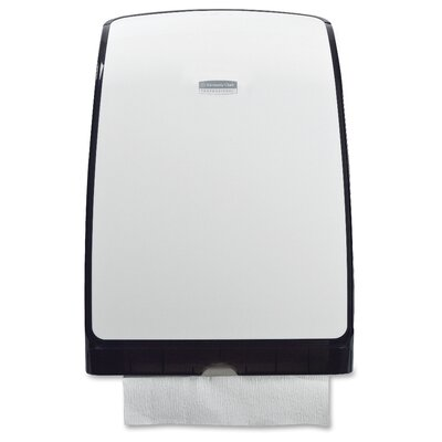 Kleenex Slimfold Towel Dispenser in White