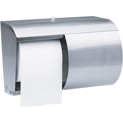 Coreless Double Roll Paper Towel Dispenser