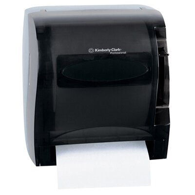 13 In-Sight Lev-R-Matic Roll Towel Dispenser in Smoke / Gray