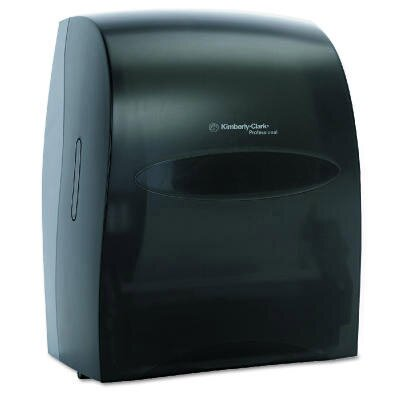 Electronic Touchless Towel Dispenser in Smoke / Gray