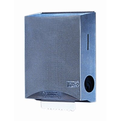 Sanitouch Hands-Free Recessed Hard Roll Towel Dispenser with Stainless Steel