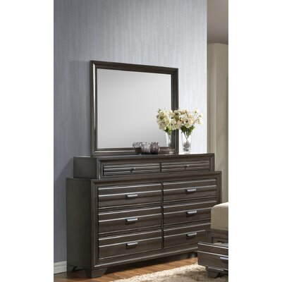 Benalla 8 Drawer Double Dresser with Mirror