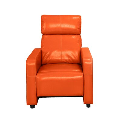 Ketter Manual Recliner Upholstery: Orange