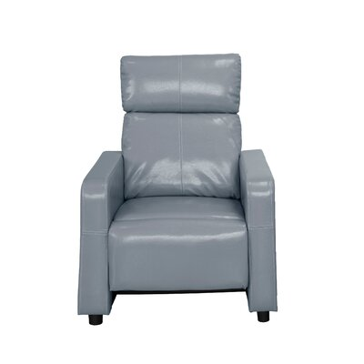 Ketter Manual Recliner Upholstery: Gray