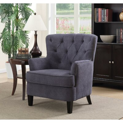 Glarus Armchair Upholstery: Gray