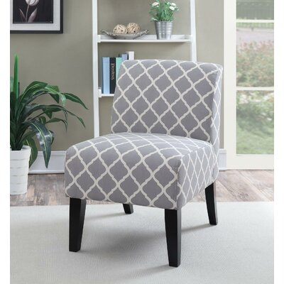 Springfield Slipper Chair Upholstery: Gray