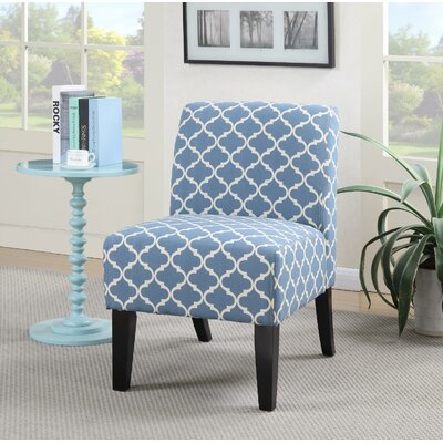 Springfield Slipper Chair Upholstery: Blue