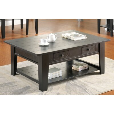 Corvally Coffee Table Finish: Black
