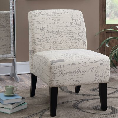 Ardane French Script Slipper Chair