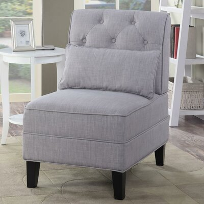 Dequilla Slipper Chair Upholstery: Gray