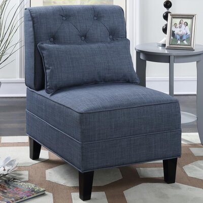 Johnathan Tufted Slipper Chair