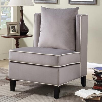 Landen Accent Chair Upholstery: Gray