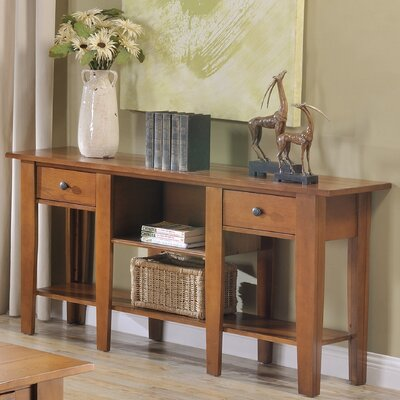 Corvally Console Table Finish: Oak