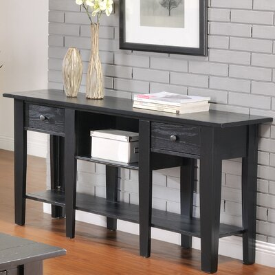 Corvally Console Table Finish: Black