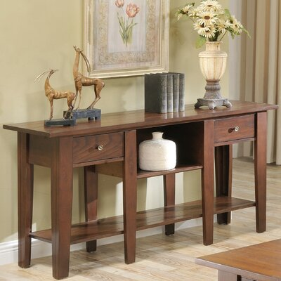 Corvally Console Table Finish: Cherry