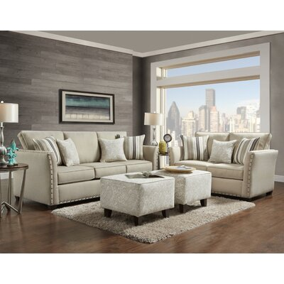 Ailith 2 Piece Living Room Set