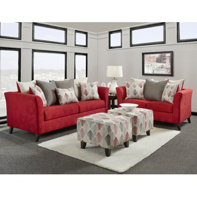 Chris Sofa and Loveseat