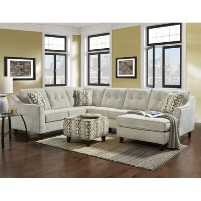 Holsey Sectional and Ottoman Set