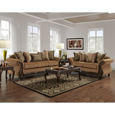Weissinger 2 Piece Living Room Set