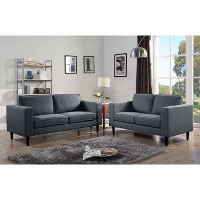 Demps Sofa Upholstery: Slate