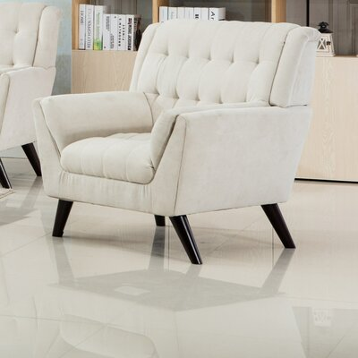 Ron Armchair Upholstery: Beige