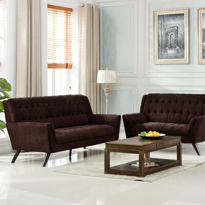 Ron Sofa Upholstery: Brown