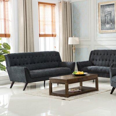 Ron Sofa Upholstery: Gray
