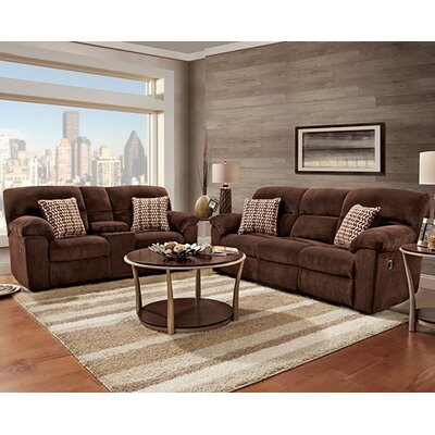 Red Barrel Studio RDBT3352 Napier Recliner Sofa and Loveseat Set