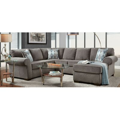 Darby Home Co DBHM3798 Edmundo Reversible Sectional