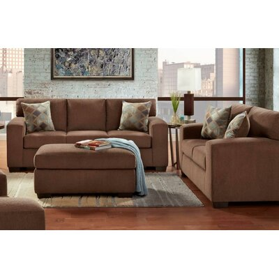 Nancy 3 Piece Sofa Loveseat and Ottoman Set